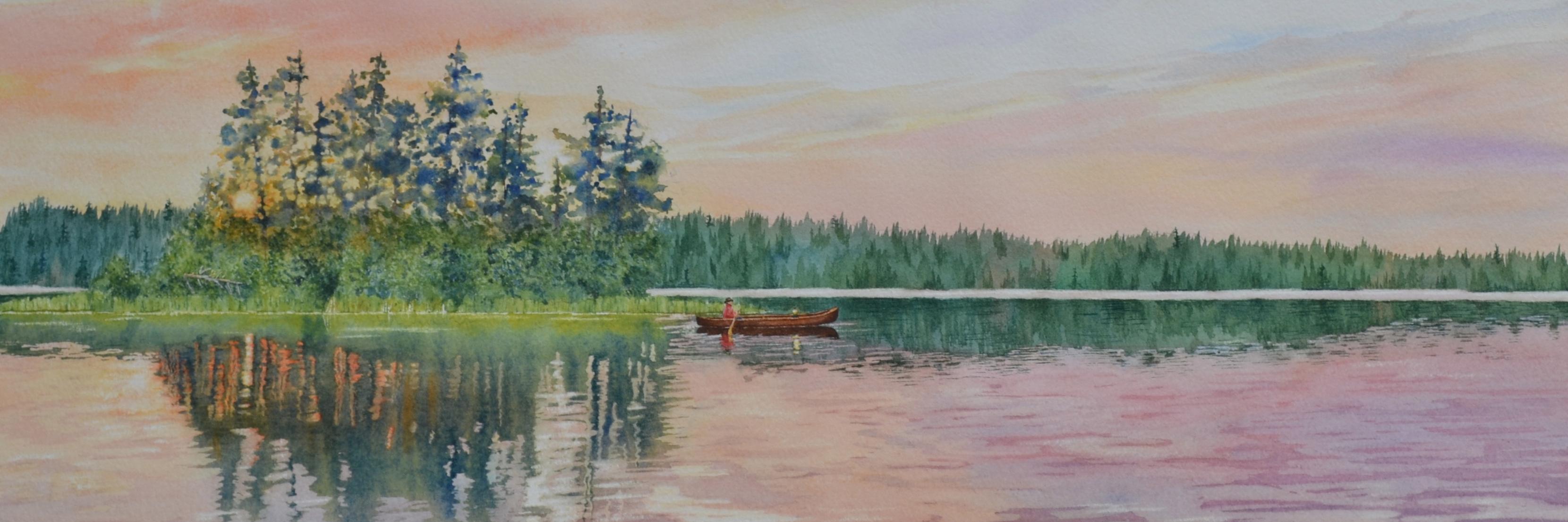 """""""Sawbill Lake Paddle"""""""